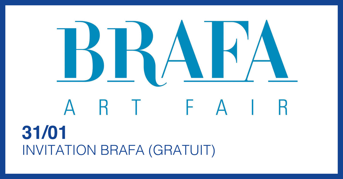 INVITATION VIP A LA BRAFA ART FAIR : VISITE ET LUNCH (GRATUIT)