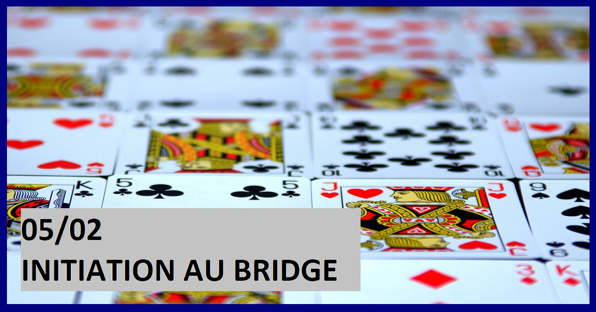 COURS D'INITIATION AU BRIDGE
