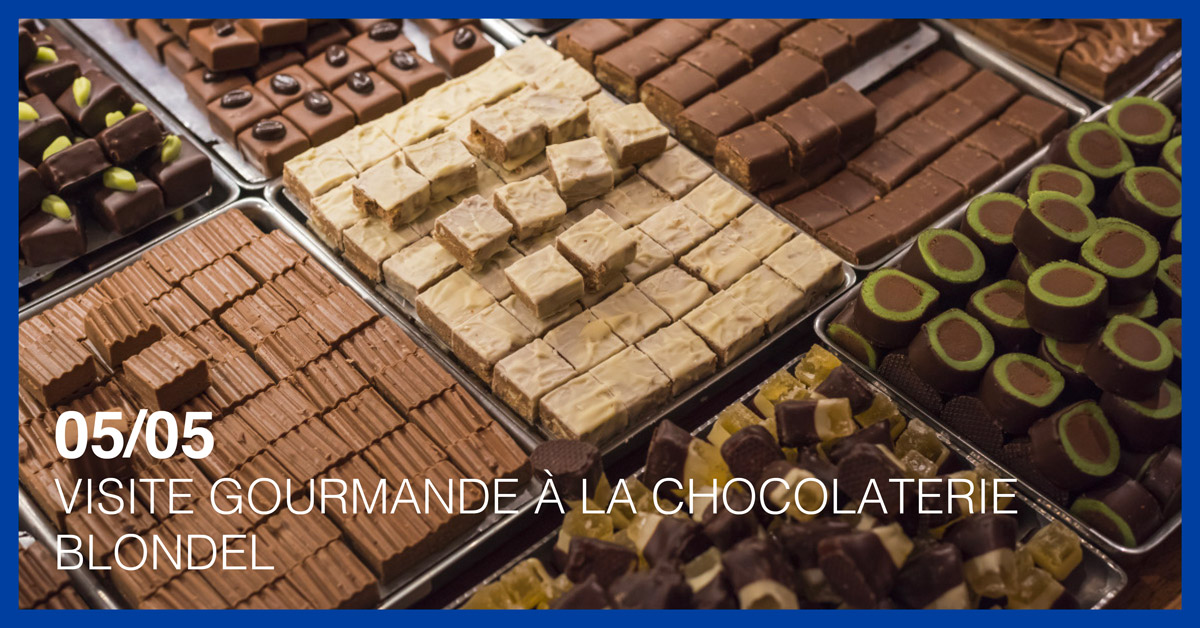 VISITE GOURMANDE À LA CHOCOLATERIE BLONDEEL