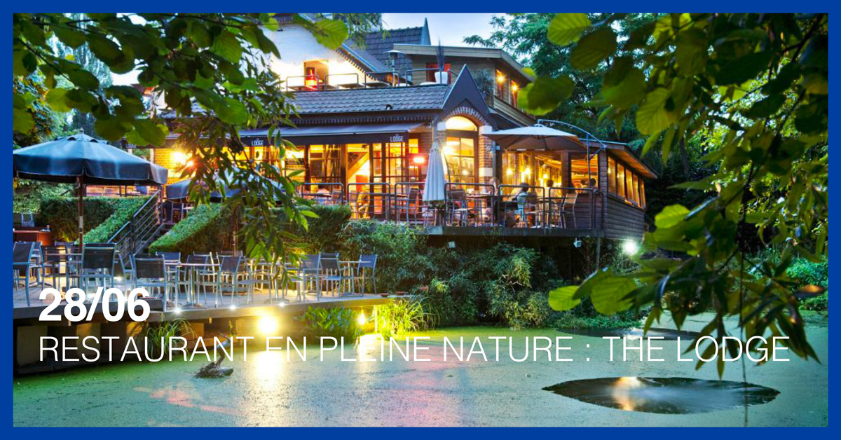 RESTAURANT EN PLEINE NATURE : THE LODGE
