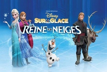 SPECTACLE : DISNEY ON ICE : LA REINE DES NEIGES