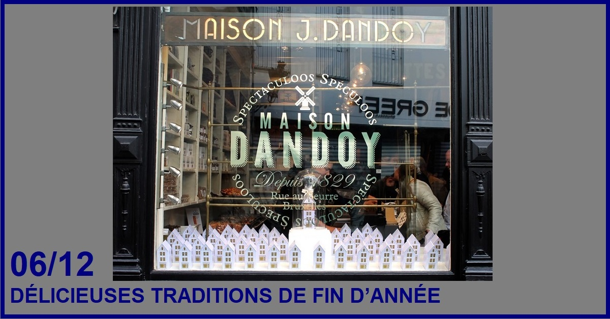 DELICIEUSES TRADITIONS DE FIN D'ANNEE