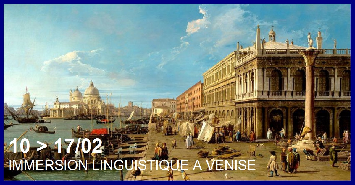 UNE IMMERSION ALL'ITALIANA A VENISE !