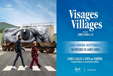 INVITATION AVANT-PREM. FILM VISAGES-VILLAGES DE AGNES VARDA (GRATUIT)