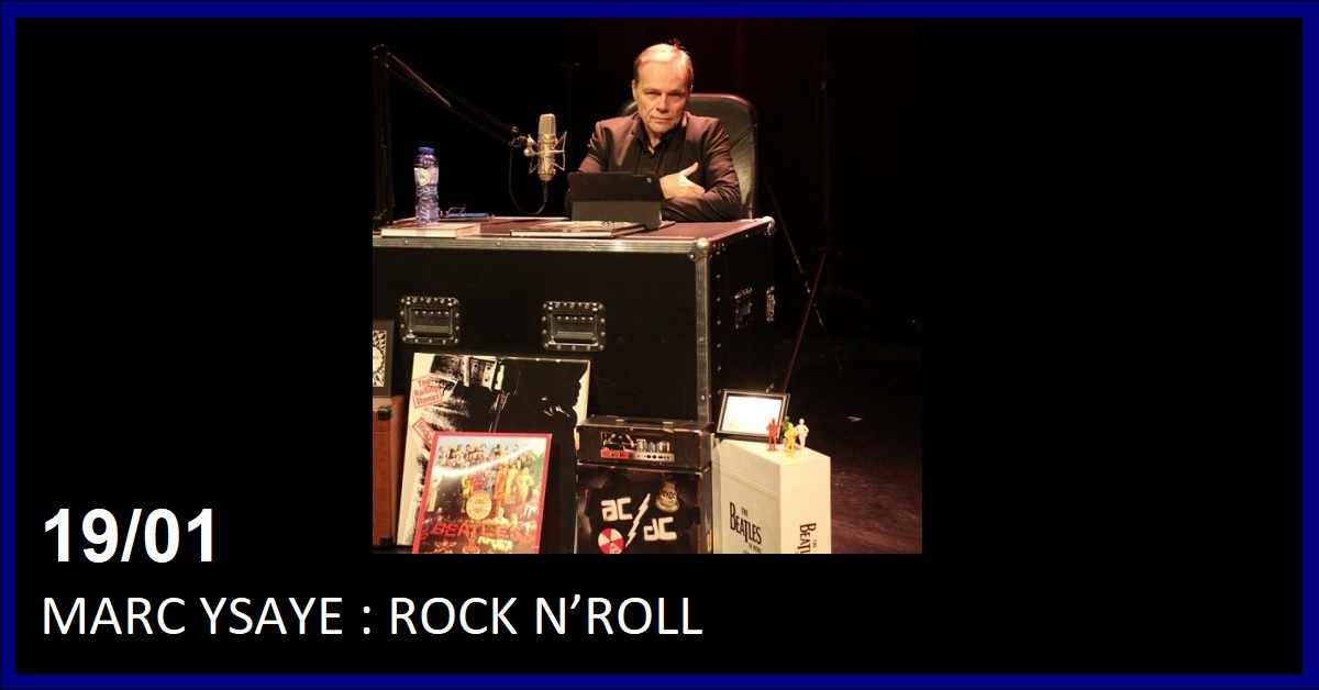 MARC YSAYE : ROCK N'ROLL, SPECTACLE INEDIT & INTERACTIF