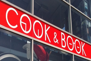 COOK&BOOK : REDUCTION DE 10% A l'ACHAT DE LIVRES